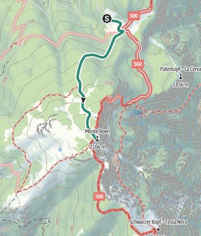 Map / Monte Roen