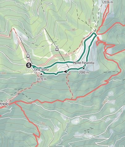 Cartina / Trekking al Monte Panarotta