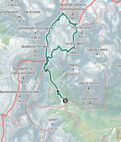 Map / Cima Scalieret