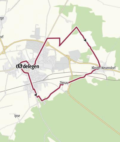 "Karte / "" Heideweg "" Gardelegen"
