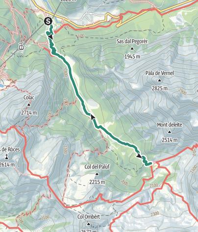 Karte / Rifugio Contrin