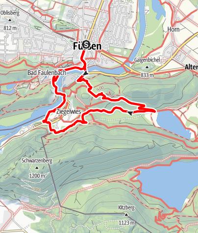 Karte / Kalvarienberg-Runde