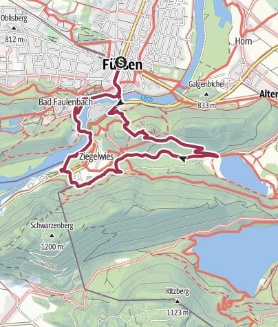 Map / Kalvarienberg-Runde