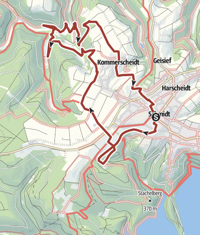 Karte / [80] Kreuzweg des Friedens