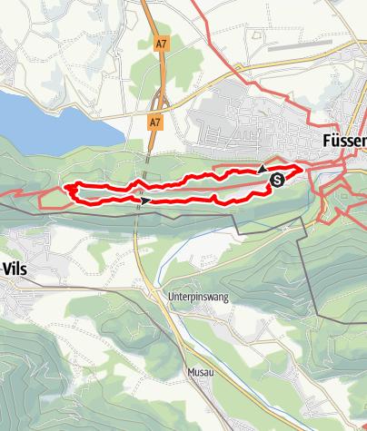 Karte / Faulenbacher Talrunde