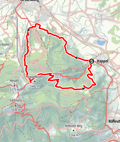 Karte / Alpspitz-Runde