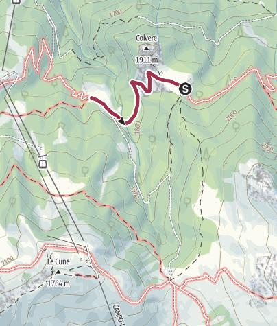 Karte / Rezila-Spaziergang