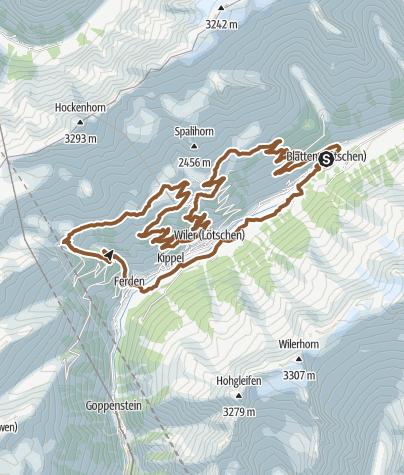 Karte / TorTour