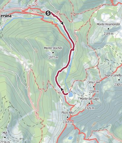 Karte / Erdemolo-See