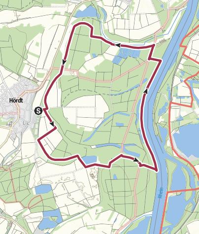 Karte / Treidlerweg