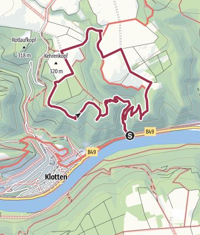 Map / Dortebachtal