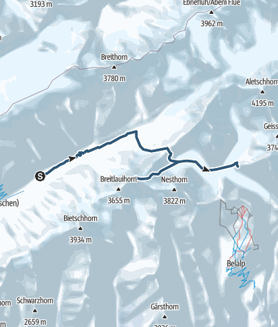 Map / Breithorn