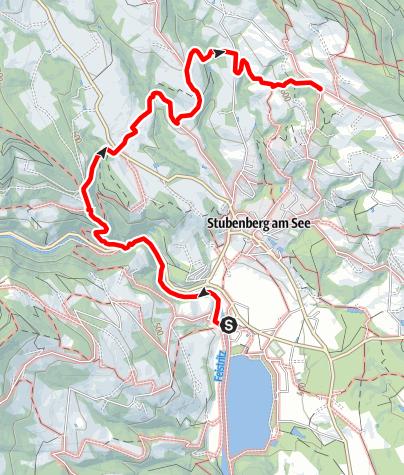 """Karte / 7 Bacherl Weg- """"Über 7 Brücken musst du gehen…"""""""