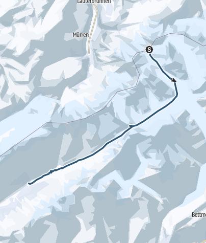 Karte / Lötschenlücke