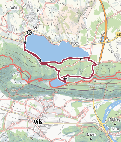 Karte / Zwei-Seen-Blick-Runde