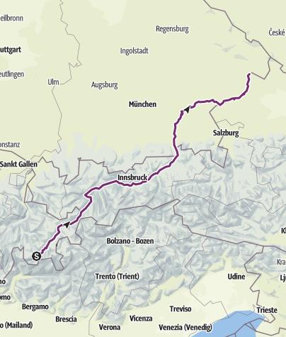 Térkép / Innradweg