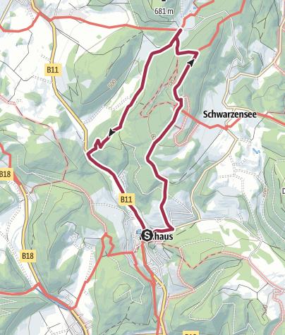 Map / Peilstein von Neuhaus
