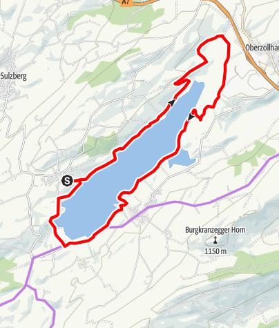 Karte / Rottachsee-Runde
