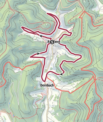 Karte / Ramberg - Bürstenbinderweg