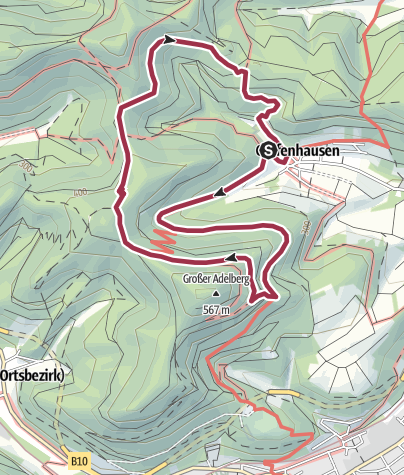 Karte / Annweiler-Gräfenhausen Wildsauweg