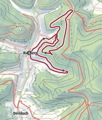 Karte / Ramberg - Museumsweg