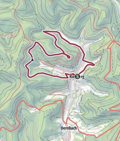 Karte / Ramberg - Ramburgweg