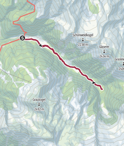 Map / Wanderweg Prossau