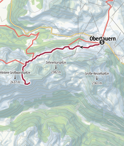Karte / Obertauern - Glöcknerin