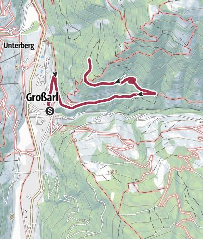 Map / Güterweg Vorderstadluck