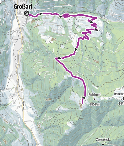 Karte / Bichlalm