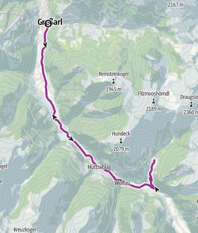 Map / Hallmoosalm