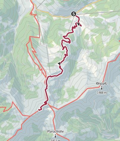 מפה / Hundstein/Statzerhaus