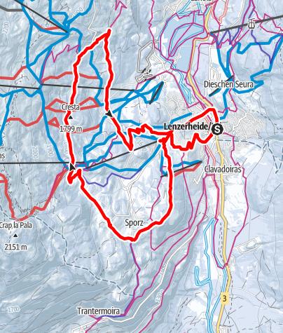 Map / 202 Höhenweg Tgantieni