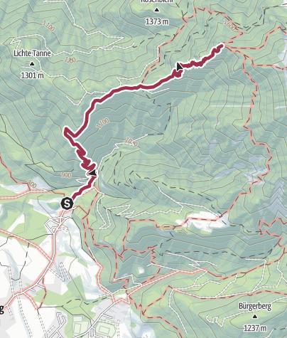 Karte / Peter Wiechenthaler-Hütte