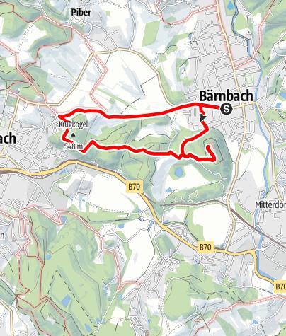 Karte / Bärnbacher Klostergeheimnis: Wanderung auf den Hl. Berg (7)
