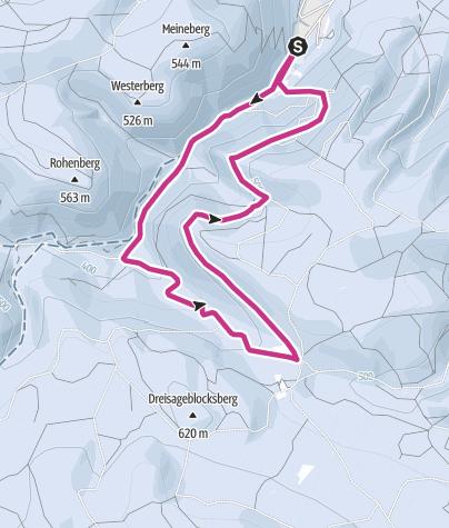 Karte / Plessenburg und Ilsestein
