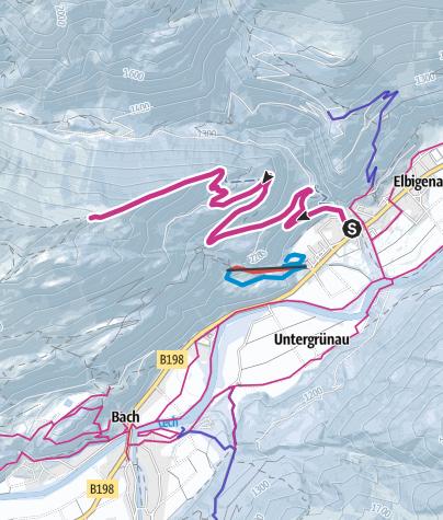 Karte / Bernhardseckhütte