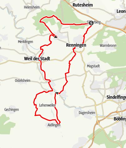 Karte / Nah.Tour.Radweg