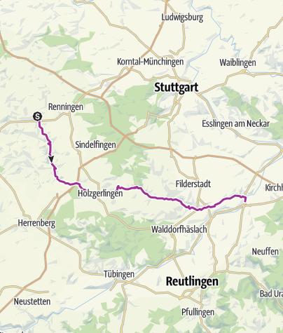 Karte / Museumsradweg