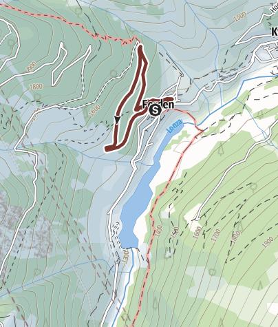 Karte / Hublchapllu Rundgang
