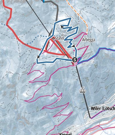 Map / Arbätrail