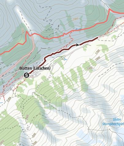 Karte / Besinnungsweg