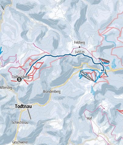 Karte / Auf zum Feldberg