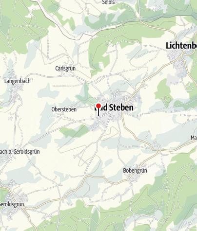Carte / Bayerisches Staatsbad Bad Steben