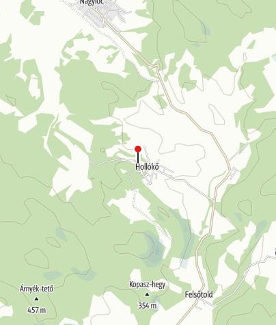Térkép / Hollókő, Ófalu