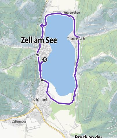 Karte / LEDLENSER WOMEN'S TRAIL Zell am See-Kaprun - Women's Challenge