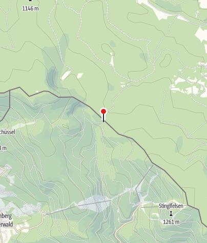 Karte / Zollhütte Holzschlag