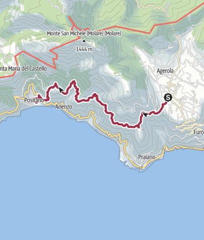 Map / Sentiero degli Dei