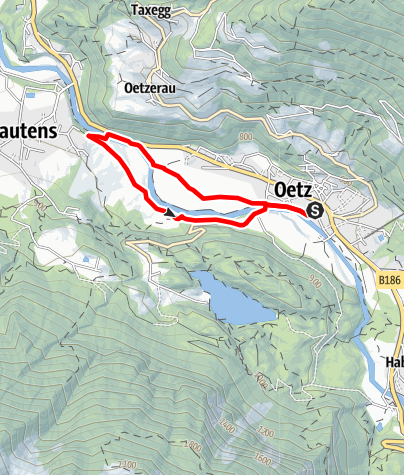 Map / E-Bike Tour Beerweg (626)