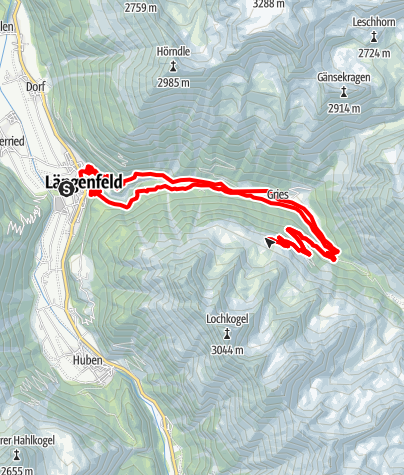 Map / E-Bike Tour zur Nisslalm (634)